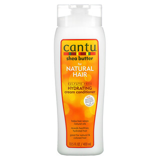 Cantu, Shea Butter For Natural Hair, Sulfate-Free Hydrating Cream Conditioner,  13.5 fl oz (400 ml)