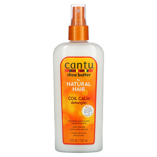 Cantu, Shea Butter for Natural Hair, Coil Calm Detangler, 8 fl oz (237 ml)