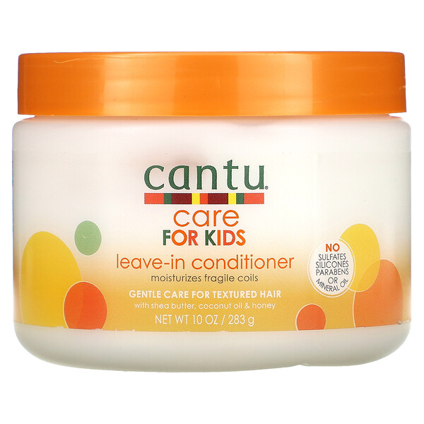 Cantu, Care For Kids, Leave-In Conditioner, Gentle Care For Textured Hair, 10 oz (283 g)