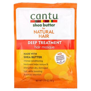 Cantu, Shea Butter for Natural Hair, Deep Treatment Hair Masque,  1.75 oz (50 g)
