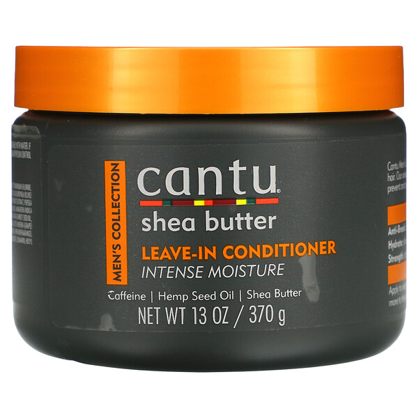 Men's Collection, Shea Butter Leave-In Conditioner, 13 oz (370 g)