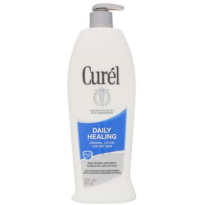 Curel Оригинальный ежедневный восстанавливающий лосьон для сухой кожи, 591мл  - Купить