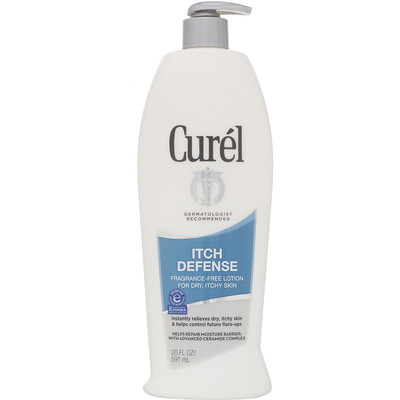 Купить Curel Успокаивающий лосьон для сухой раздраженной кожи, без отдушки, 591мл