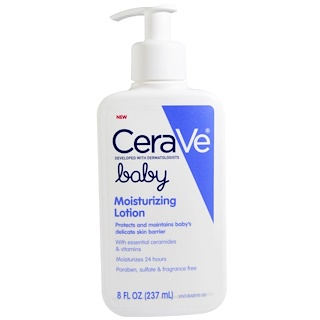 CeraVe, Baby, Moisturizing Lotion, 8 fl oz (237ml)
