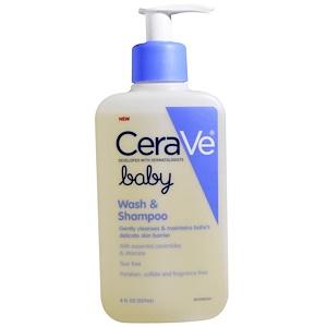 СераВе, Baby, Wash and Shampoo, 8 fl oz (237 ml) отзывы