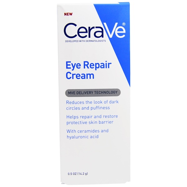 CeraVe, Eye Repair Cream, 0.5 oz (14.2 g)