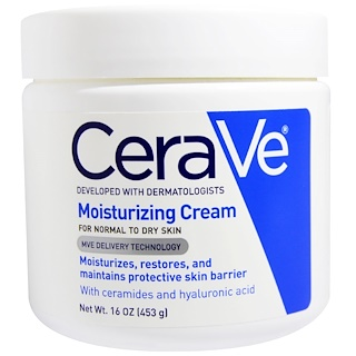 CeraVe, Moisturizing Cream, 16 oz (453 g)