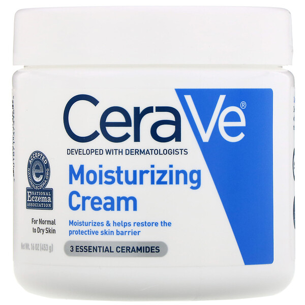 CeraVe, 保湿クリーム、16 oz (453 g) (Discontinued Item)