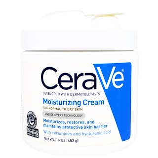 CeraVe, Moisturizing Cream with Pump, 16 oz (453 g)