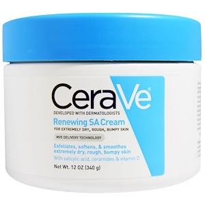 CeraVe, Обновляющий крем СА, 12 унций (340 г) инструкция, применение, состав, противопоказания