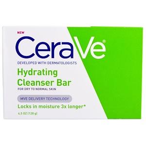 СераВе, Hydrating Cleanser Bar, 4.5 oz (128 g) отзывы