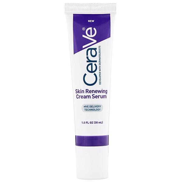 CeraVe, Skin Renewing Cream Serum, 1 fl oz (30 ml) (Discontinued Item)