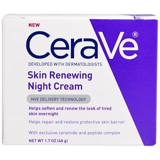 CeraVe, Skin Renewing Night Cream, 1.7 oz (48 g)