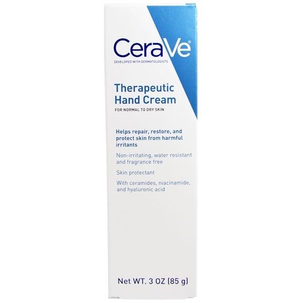 CeraVe, Терапевтический крем для рук, 3 унции (85 г)
