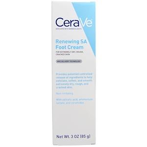 СераВе, Renewing SA Foot Cream, 3 oz (85 g) отзывы