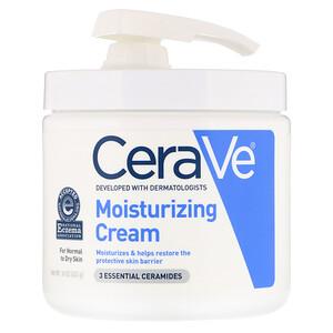 СераВе, Moisturizing Cream with Pump, 16 oz (453 g) отзывы