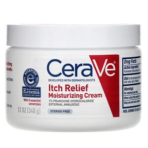 СераВе, Itch Relief Moisturizing Cream, 12 oz (340 g) отзывы