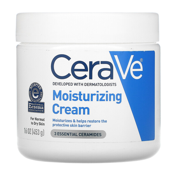 CeraVe, Moisturizing Cream, 16 oz (453 g) (Discontinued Item)