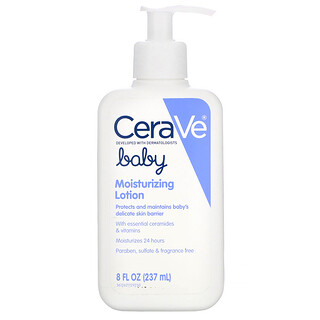 CeraVe, 嬰兒保濕身體乳,8 液量盎司(237 毫升)
