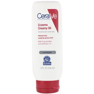 CeraVe, Eczema Creamy Oil, For Extra Dry, Itchy Skin, 8 fl oz (236 ml)