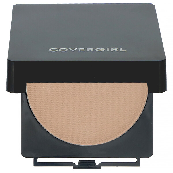 Covergirl, Clean, Powder Foundation, 530 Classic Beige, .41 oz (11.5 g) (Discontinued Item)