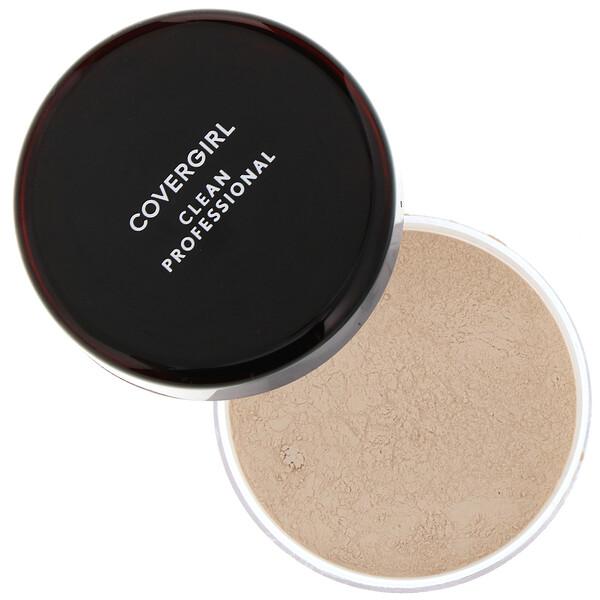 Clean Professional, Loose Powder, 105 Translucent Fair, .7 oz (20 g)