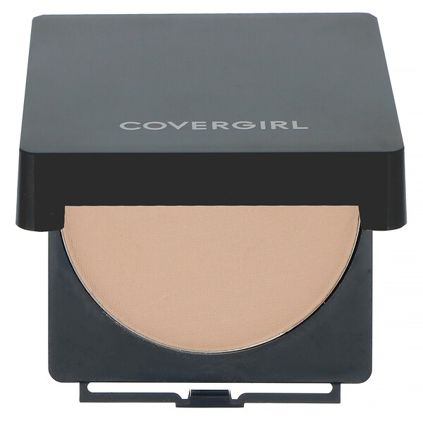 Covergirl, Clean, Powder Foundation, 520 Creamy Natural, .41 oz (11.5 g)