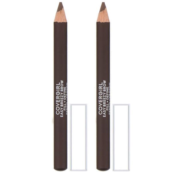 Easy Breezy, עפרון מילוי ותיחום לגבות, גוון 505 Rich Brown, 1.7 גרם (0.06 אונקיות)