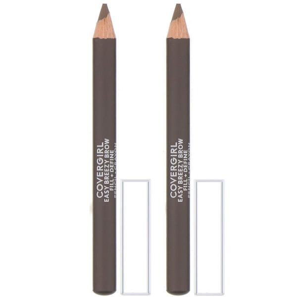 Easy Breezy, Brow Fill + Define Pencil, 510 Soft Brown, 0.06 oz (1.7 g)