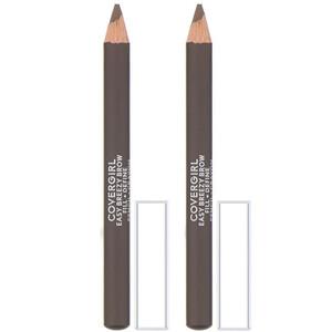 Covergirl, Easy Breezy, Brow Fill + Define Pencil, 510 Soft Brown, 0.06 oz (1.7 g) отзывы покупателей