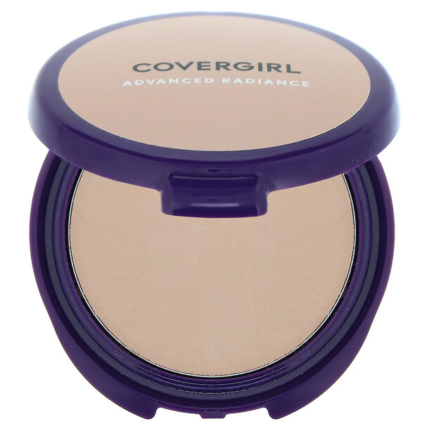 Covergirl, Advanced Radiance, Age-Defying, Pressed Powder, 110 Creamy Natural, 0.39 oz (11 g)