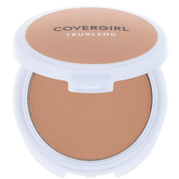 Covergirl, TruBlend, компактная минеральная пудра, оттенок «Прозрачный средний», 11г (0,39унции) (Discontinued Item)