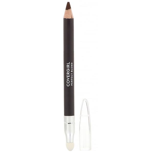 Covergirl, Perfect Blend, Lápiz delineador de ojos, 110 Marrón ennegrecido, 0,85 g (0,03 oz) (Discontinued Item)