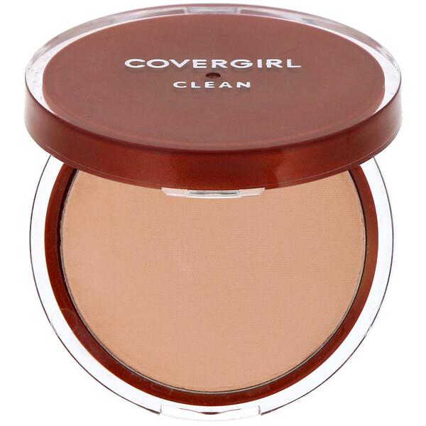 Clean, Pressed Powder Foundation, 135 Medium Light, .39 oz (11 g)