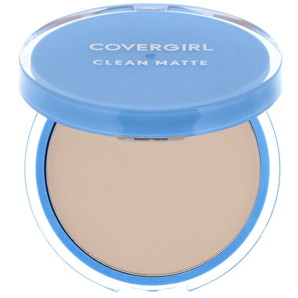 Clean Matte, Pressed Powder, 510 Classic Ivory, .35 oz (10 g)