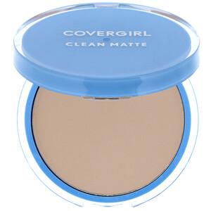 Covergirl, Clean Matte, Pressed Powder, 525 Buff Beige, .35 oz (10 g) отзывы