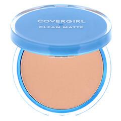 Covergirl, 清潔用啞光粉餅,535 勻淨白色,0.35 盎司(10 克)