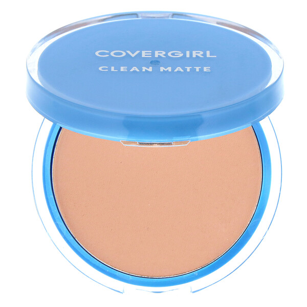 Covergirl, Clean Matte, Pressed Powder, 535 Medium Light, .35 oz (10 g) (Discontinued Item)
