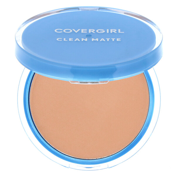 Covergirl, Clean Matte, Pressed Powder, 545 Warm Beige, .35 oz (10 g) (Discontinued Item)