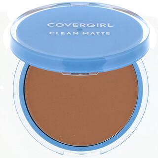 Covergirl, Clean Matte, Pressed Powder, 555 Soft Honey, .35 oz (10 g)