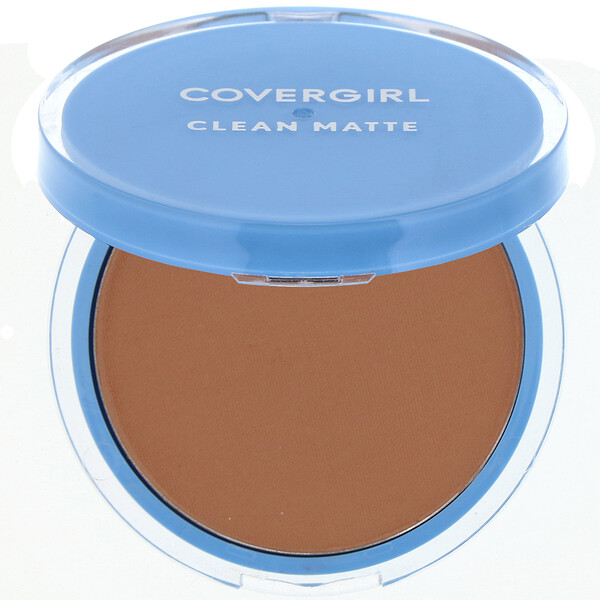 Clean Matte, Pressed Powder, 555 Soft Honey, .35 oz (10 g)
