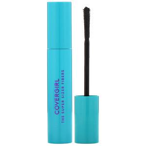Covergirl, The Super Sizer Fibers, Mascara, 800 Very Black,  .4 fl oz (12 ml) отзывы