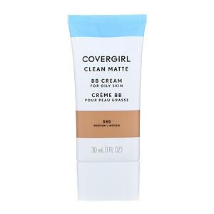 Covergirl, Clean Matte BB Cream, 540 Medium, 1 fl oz (30 ml) отзывы