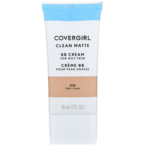 Covergirl, Clean Matte BB Cream, 510 Fair, 1 fl oz (30 ml) отзывы покупателей
