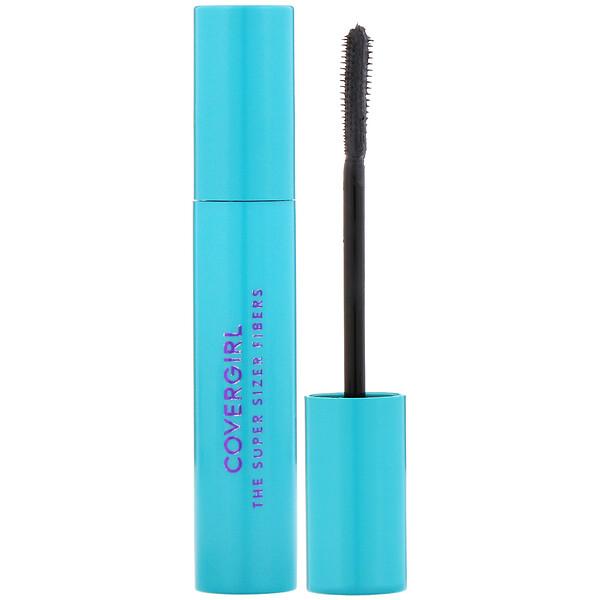 Covergirl, The Super Sizer Fibers, Mascara, 805 Black, .4 oz (12 ml) (Discontinued Item)