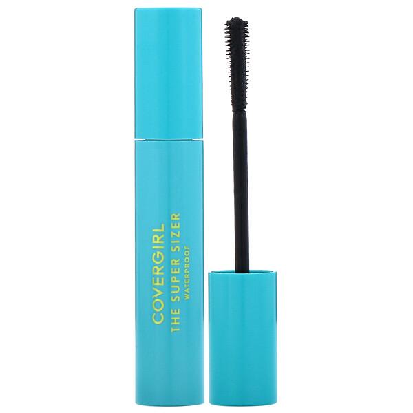 Covergirl, The Super Sizer, Waterproof Mascara, 825 Very Black, .4 fl oz (12 ml)