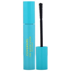 Covergirl, The Super Sizer, Waterproof Mascara, 825 Very Black, .4 fl oz (12 ml) отзывы