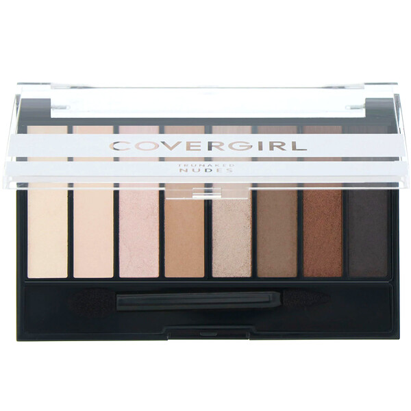 Covergirl, Trunaked, Eyeshadow Palette, Nudes, .23 oz (6.5 g)