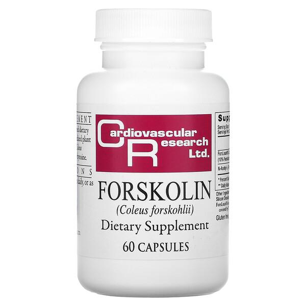 Forskolina, 60 cápsulas