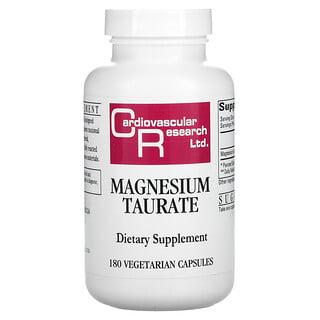 Cardiovascular Research, Taurato de magnesio, 180cápsulas vegetales